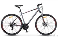 "Велосипед 28"" STELS Cross 130 MD Gent V010 2019 16,5"" серый"