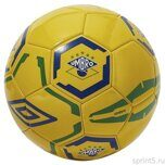 Мяч футбольный UMBRO BRAZIL 2018 FLAG SUPPORTER BALL №5 GGC 20924U